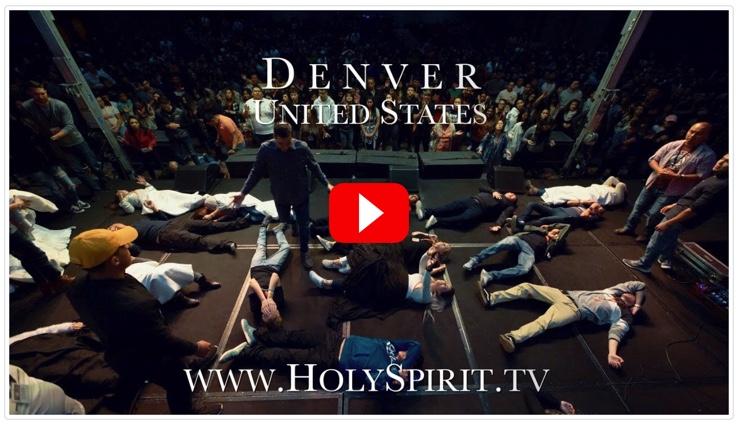 Youth Encounter the Holy Spirit in Denver, Colorado!