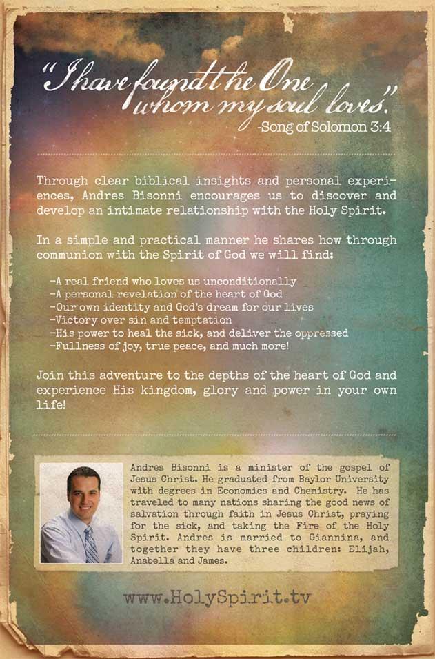 "New Book ""My Beloved Holy Spirit"" - HolySpirit - Andres"